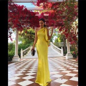 ZARA LIMITED EDITION SINGLE SHOULDER DRESS